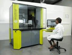 CERADROP社の試作品製造用精密プリンター