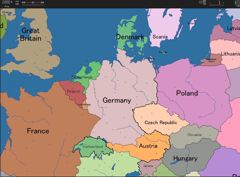 ドイツ:領土の変遷「ドイツって...